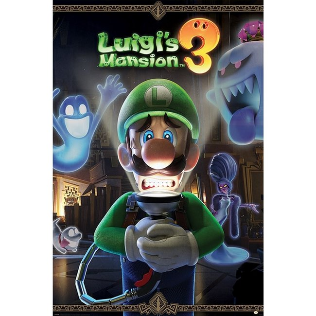 NINTENDO LUIGI'S MANSION YOU ARE IN FOR A FRIGHT