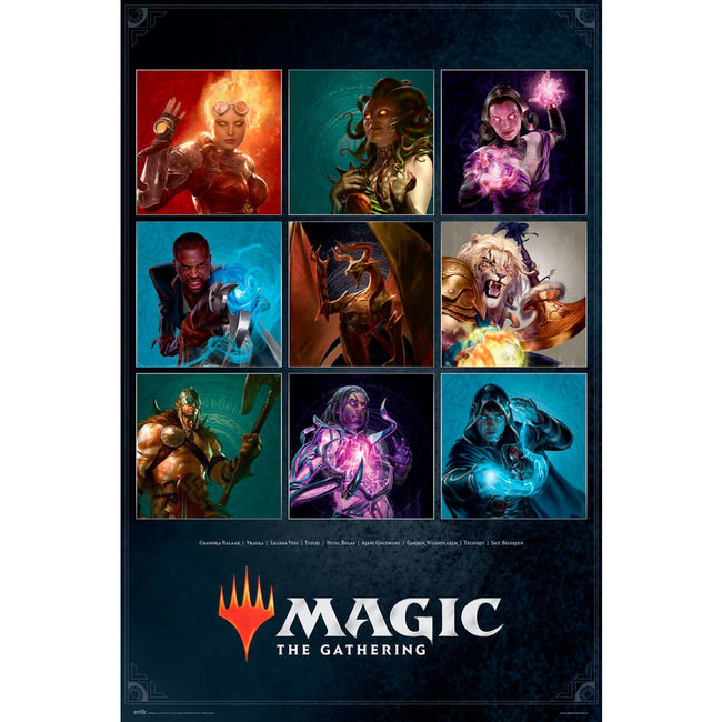 MAGIC THE GATHERING CHARACTERS