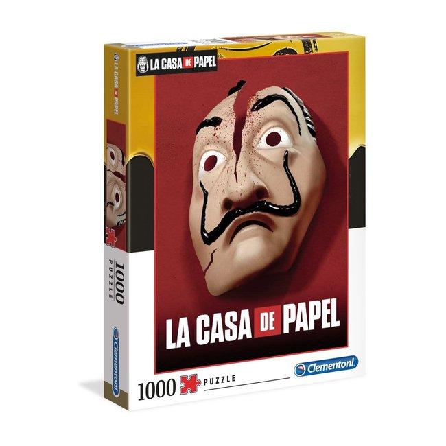 Clementoni Money Heist Puzzle Mask