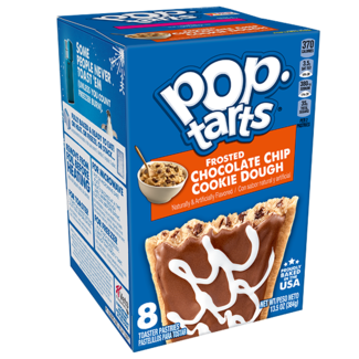 Kellogg's Pop Tarts - Frosted Chocolate Chip Cookie Dough