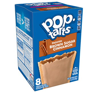 Kellogg's Pop Tarts - Frosted Brown Sugar Cinnamon