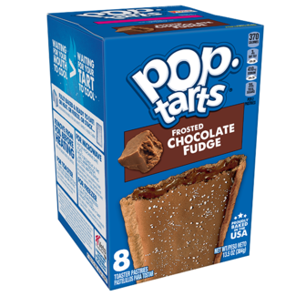 Kellogg's Pop Tarts - Frosted Chocolate Fudge
