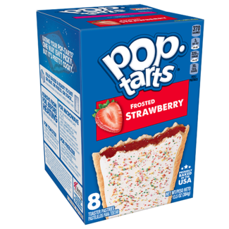 Kellogg's Pop Tarts - Frosted Strawberry