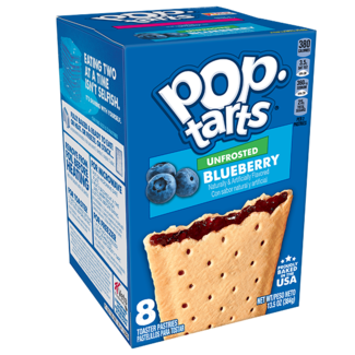 Kellogg's Pop Tarts - Unfrosted Blueberry