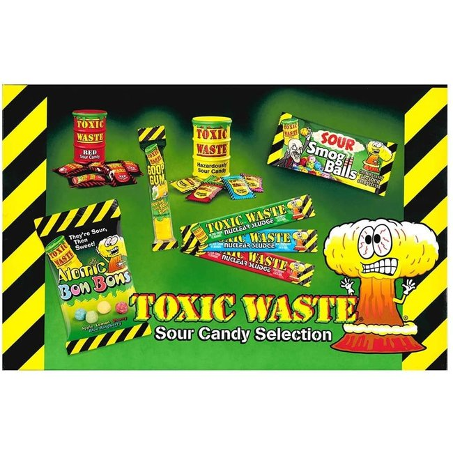 Toxic Waste Selection Gift Box 385 gr.