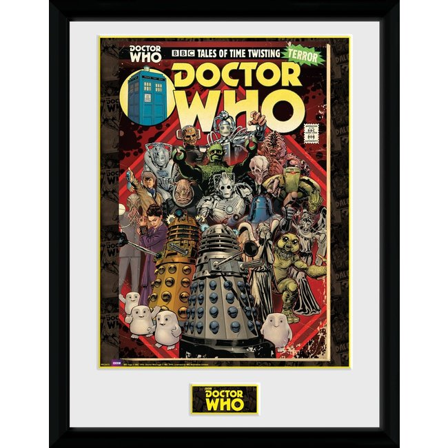 Doctor Who: Villains Comic