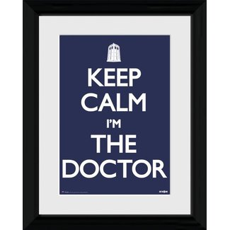 Doctor Who: Keep calm i'm the doctor
