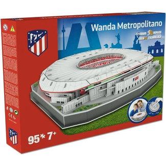 Nanostad 3D Puzzle Atletico Madrid: Wanda Metropolitano 95 pieces