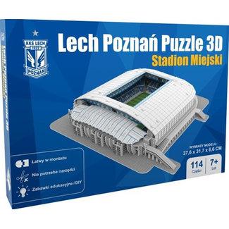 Nanostad 3D Puzzle Lech Poznan: Stadion Miejski 114 pieces