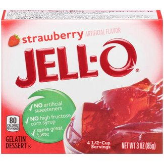 Jell-O Jell-O: Strawberry