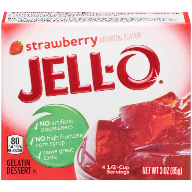 Jell-O Jell-O: Strawberry