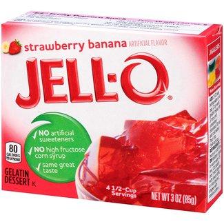 Jell-O Jell-O: Strawberry Banana