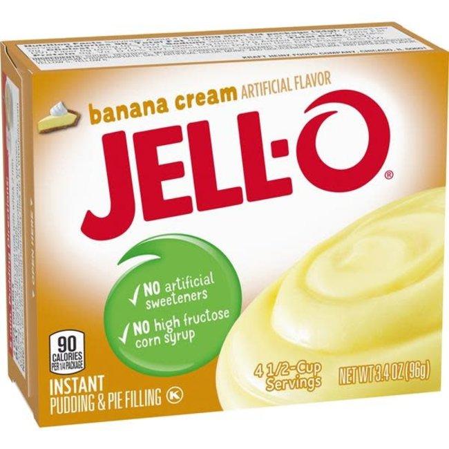 Jell-O Jell-O: Banana Cream