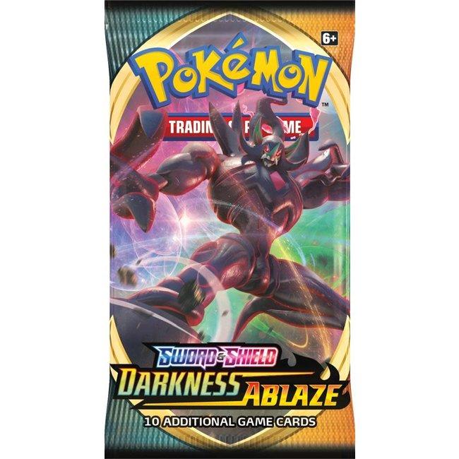 The Pokémon Company international POK TCG SWORD & SHIELD DARKNESS ABLAZE BOOSTER