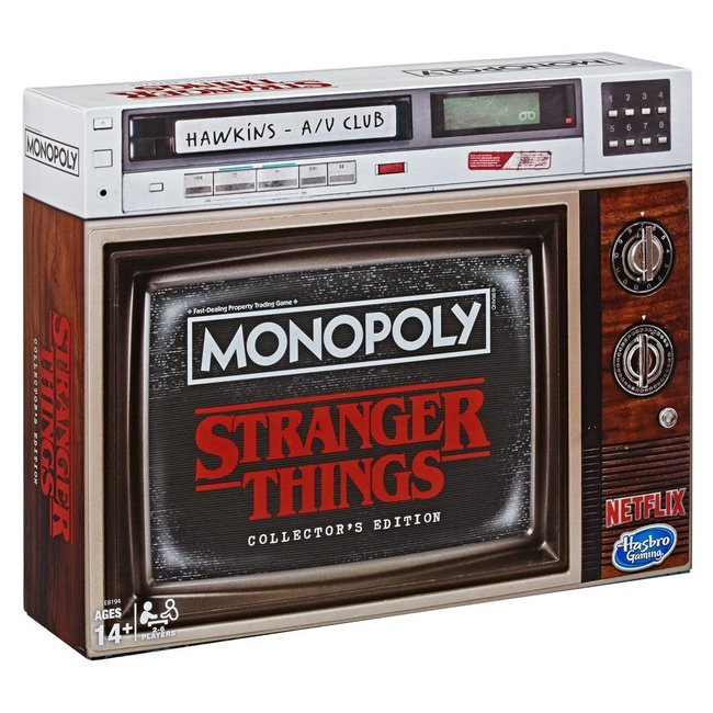 Hasbro MONOPOLY STRANGER THINGS COLLECTOR'S EDITION