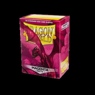 Dragon Shield SLEEVES DRAGON SHIELD MATTE - MAGENTA (100CT)