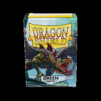 Dragon Shield SLEEVES DRAGON SHIELD MATTE - GREEN (100CT)
