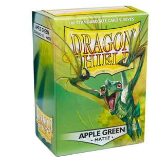 Dragon Shield SLEEVES DRAGON SHIELD MATTE - APPLE GREEN (100CT)