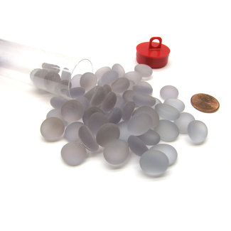 Chessex GAMING STONES LILAC FROSTED CRYSTAL STONES