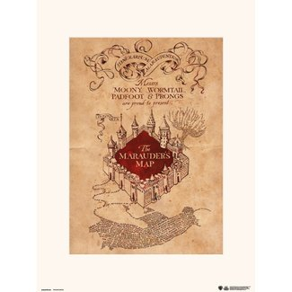 HARRY POTTER THE MARAUDERS MAP