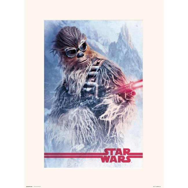 STAR WARS SOLO CHEWBACCA AT WORK