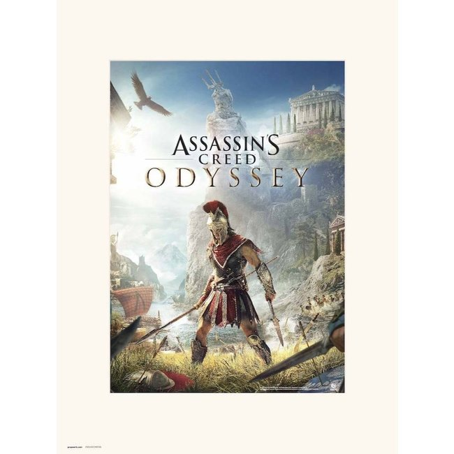 ASSASSINS CREED ODYSSEY ONE SHEET