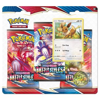 The Pokémon Company international POKEMON TCG SWORD & SHIELD BATTLE STYLES 3BB - Evee