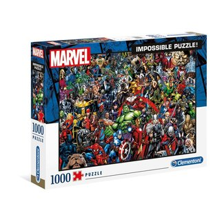 Clementoni Marvel 80th Anniversary Impossible Puzzle Characters