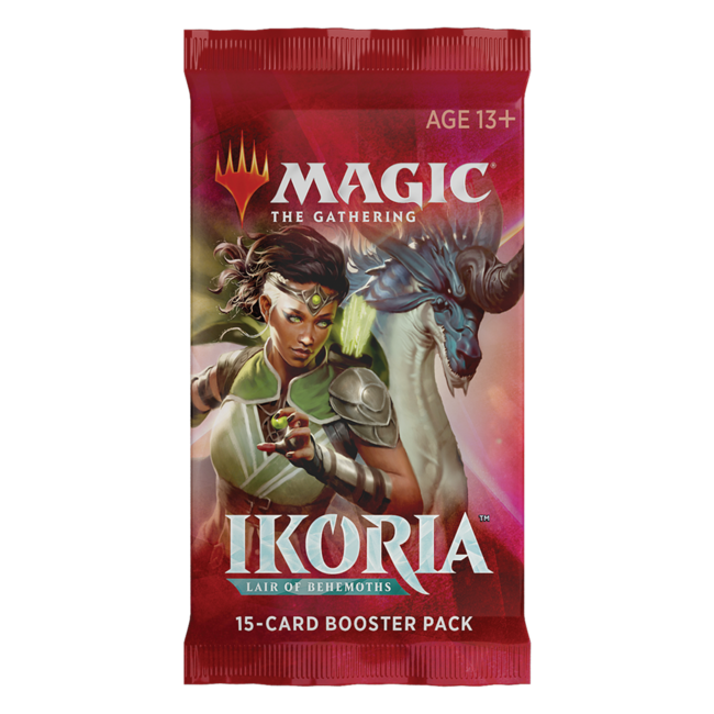 Wizards Of The Coast Magic the Gathering Ikoria: Lair of Behemoths Booster