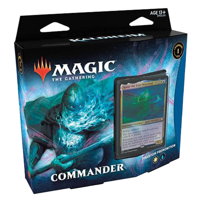 Wizards Of The Coast Commander Deck Kaldheim: Phantom Premonition