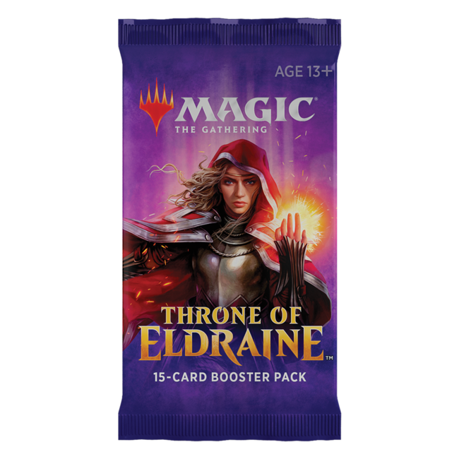 Wizards Of The Coast Magic the Gathering Throne of Eldraine Booster