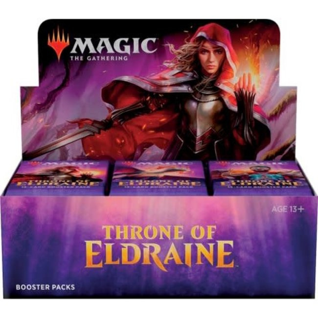 Wizards Of The Coast Magic the Gathering Throne of Eldraine Booster Display (36) english