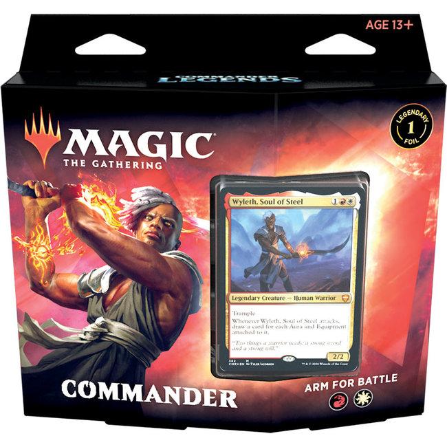 Wizards Of The Coast Commander Deck Commander Legends: Arm for Battle