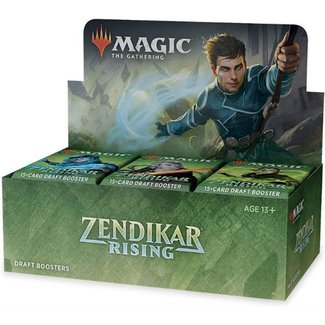 Wizards Of The Coast Magic the Gathering Zendikar Rising Draft Booster Display (36)