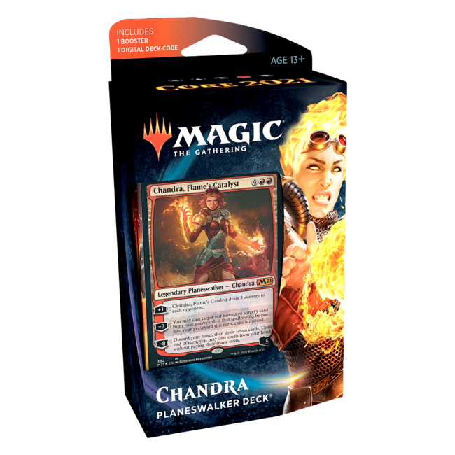 Wizards Of The Coast Magic the Gathering Core Set 2021 Planeswalker Decks English - Chandra