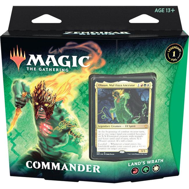 Wizards Of The Coast Magic the Gathering Zendikar Rising Commander Deck *Obuun, Mul Daya Ancestor*