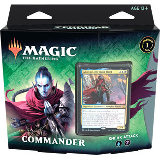 Wizards Of The Coast Magic the Gathering Zendikar Rising Commander Deck *Anowon, the Ruin Thief*