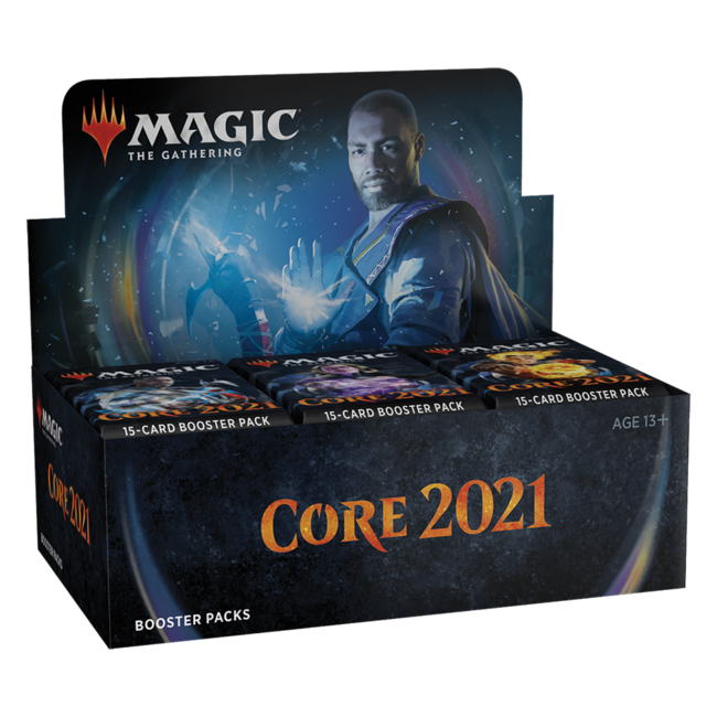 Wizards Of The Coast Magic the Gathering Core Set 2021 Booster Display (36) english