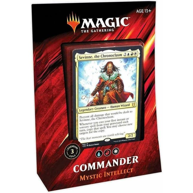 Wizards Of The Coast Commander 2019: Mystic Intelelect