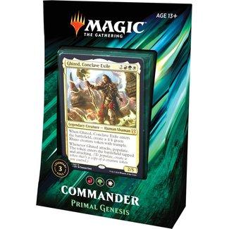 Wizards Of The Coast Commander 2019: Primal Genesis