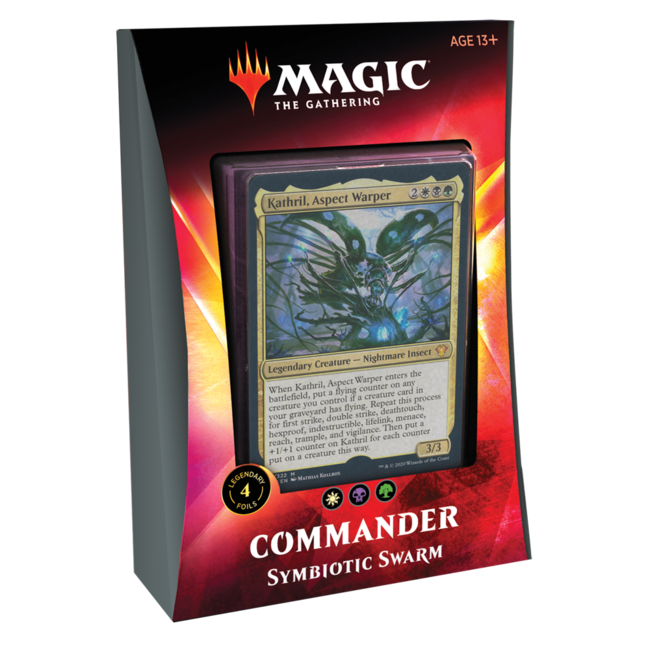 Wizards Of The Coast Commander 2020 Ikoria - Symbiotic Swarm