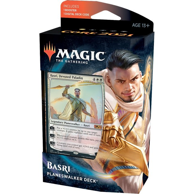 Wizards Of The Coast Magic the Gathering Core Set 2021 Planeswalker Decks English - Basri