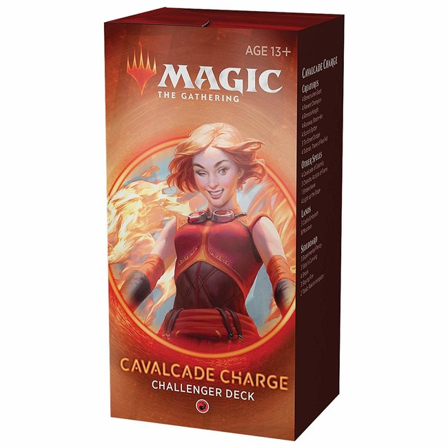 Wizards Of The Coast Magic the Gathering Challenger Deck 2020 - Cavalcade Charge