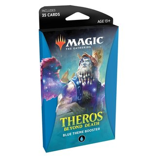 Wizards Of The Coast Magic the Gathering Theros Beyond Death Theme Booster (Blue)