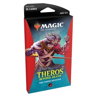 Wizards Of The Coast Magic the Gathering Theros Beyond Death Theme Booster (Red)