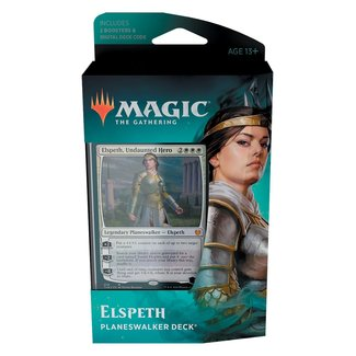 Wizards Of The Coast Magic the Gathering Theros Beyond Death Planeswalker Deck * Elspeth*