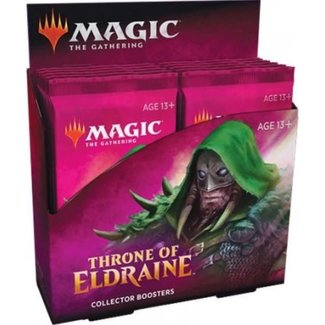Wizards Of The Coast Magic The Gathering - Throne Of Eldraine Collector Boosters Display