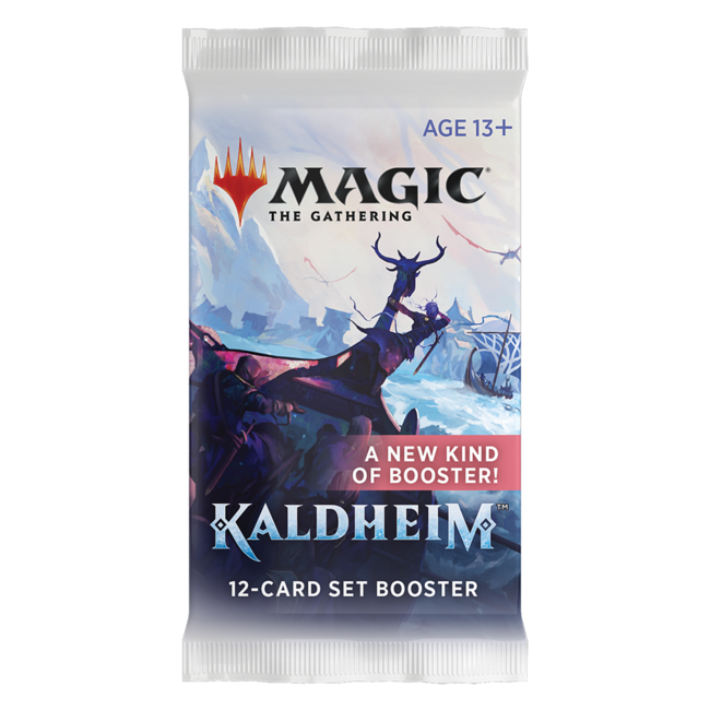 Wizards Of The Coast Set Booster Kaldheim