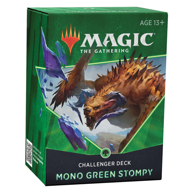 Wizards Of The Coast MTG CHALLENGER DECK 2021 - MONO GREEN STOMPY