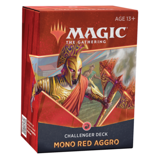 Wizards Of The Coast MTG CHALLENGER DECK 2021 - MONO RED AGRO